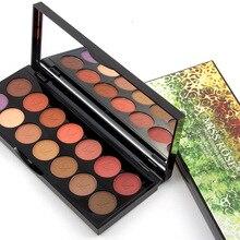 MISS ROSE Professional Eyeshadow Palette 14 Colors Shimmer Matte Smoky Nude font b Eye b font