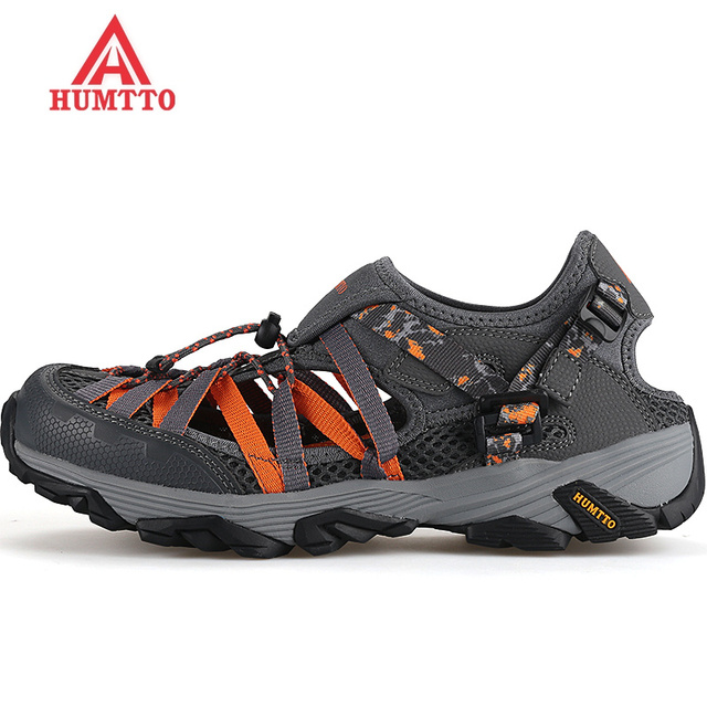 2017 top Limited Aqua Shoes Mesh Men Upstream Breathable Summer Wading Quick Dry Beach Male Outdoor free Shipping