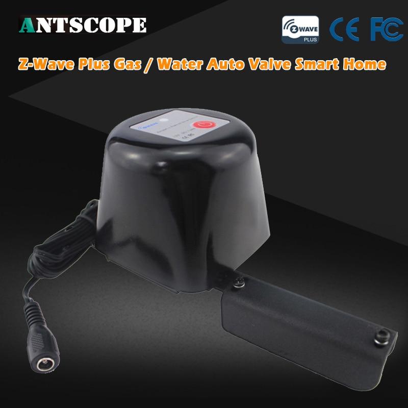 купить Z-Wave Plus Gas / Water Auto Valve Smart Home Automation Controller Work With Water Leak Sensor Alarm Gas Leakage Sensor недорого