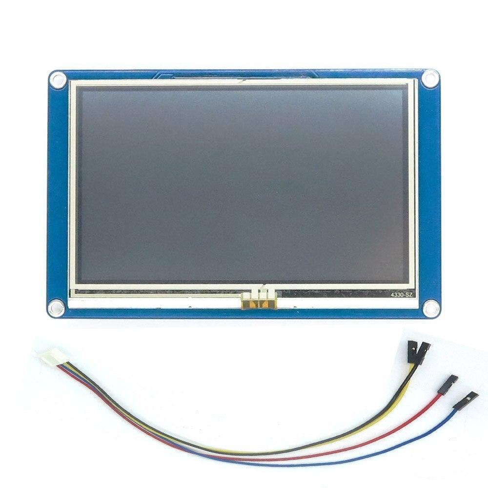 Nextion 4.3 ''Module d'affichage LCD HMI écran tactile TFT pour ESP8266