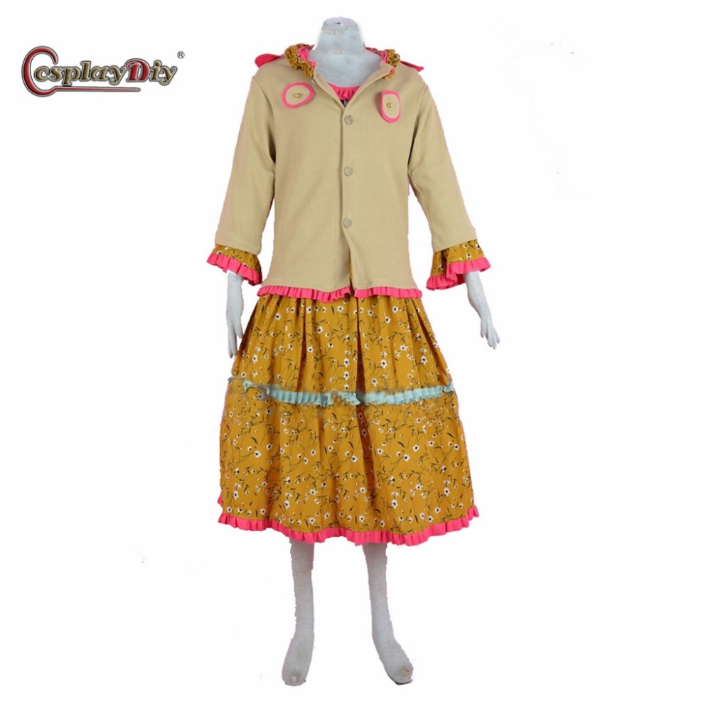 Cosplaydiy Molly Weasley Cosplay Costume From Magic School Adult Women Teacher Clothing For Halloween Carnival Custom made