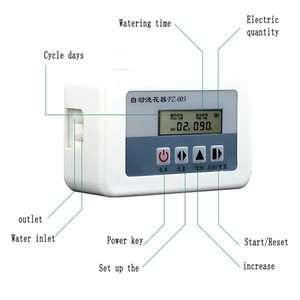 Image 3 - Solar Energy Automatic use Watering System for flowers Intelligent Water Pump Timer Drip Irrigation System set Garden Potted