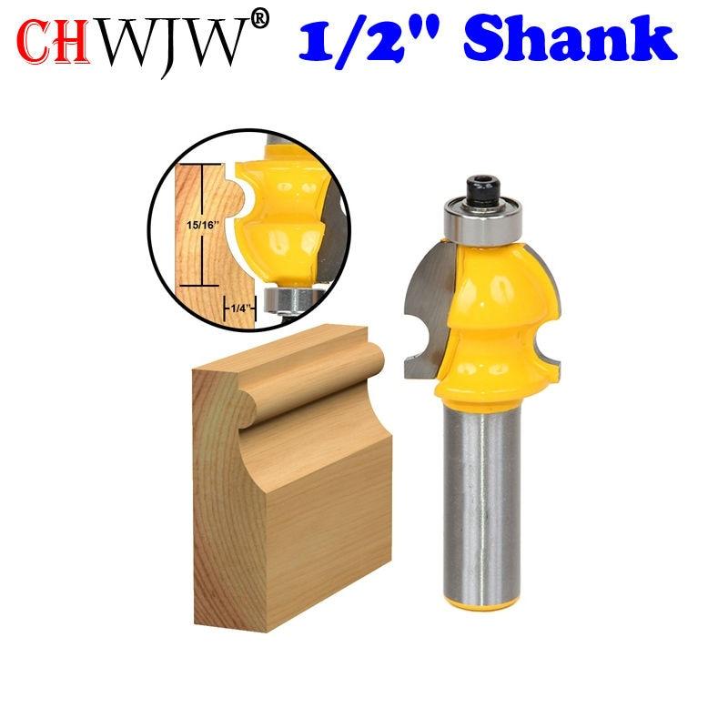 "1PC architektūrinis frezavimo frezavimo antgalis - 1/2 ""Shank Line peilis Medienos pjovimo staklės Medienos pjovimo staklės"