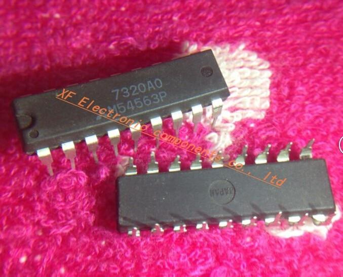 Free shipping 100pcs lot M54563P M54563 DIP18 IC best quality