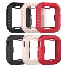 Applicable To Apple Iwatch4 Generation Protective Shell Ultra-thin Anti-drop Soft Silicone Iwatch 4 Watch Case 40/43mm