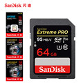 SanDisk 95MBS SD Card for Camera 80MB 256GB 128GB 64GB 32GB 16GB Memory Card U3 U1 4K Flash Card for Camera Flash Card SDXC SDHC