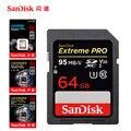 SanDisk 95MBS SD para la cámara 80 MB 256 GB 128 GB 64 GB 32 GB 16 GB tarjeta de memoria u3 U1 4 K Flash para cámara Flash tarjeta SDXC SDHC