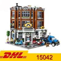 Brand New City Street View Series Corner Garage Model Set Buildling Blocks 2569Pcs Bricks Kids Toy Gifts