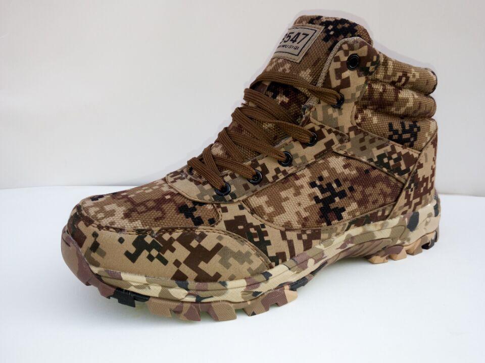 Chaussures Guerre Homme Tactiques Spécial Air Aider Desert Hiver Plein Combat En Laine Pour Bottes Armée Haute D'entraînement Camouflage Froid De xwXgZX