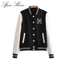 spring winter Baseball jacket  clothes women's casual long-sleeved sweater coat hoodies sweatshirt warm and comfortable JT030