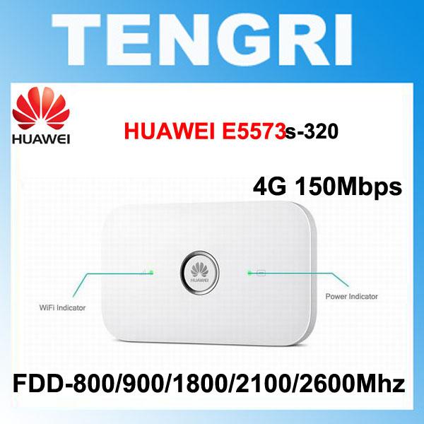 Prix pour Débloqué HUAWEI E5573 E5573s-320 150 Mbps 4G LTE Cat4 mobile hotspot Soutien jusqu'à 10 Utilisateurs