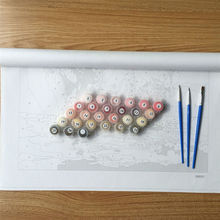 """DIY Painting By Number – Cheery in the Jar (16""""x20"""" / 40x50cm)"""