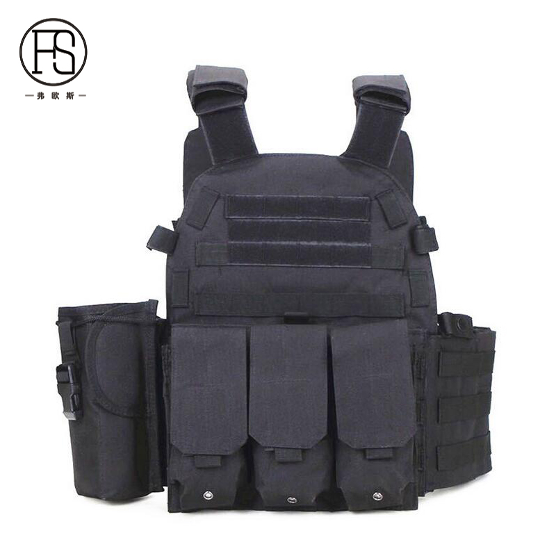 Tactical Vest Outdoor Hunting Shooting Military Gear Patinball Airsoft Game Camouflage Vest Army Combat Training Vest