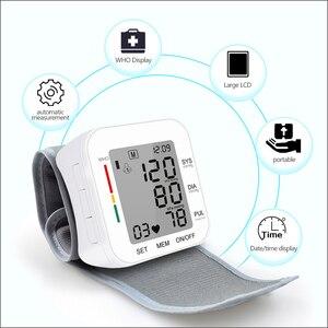 Image 3 - RZ Kỹ Thuật Số Áp Cổ Tay PulseHeart Đánh Đồng Hồ Đo Nhịp Thiết Bị Thiết Bị Y Tế Tonometer BP Mini Máy Đo Huyết Áp