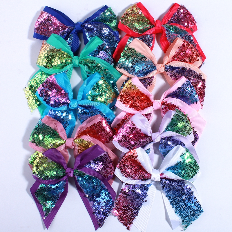 120pcs 12cm big bling sequins grosgrain
