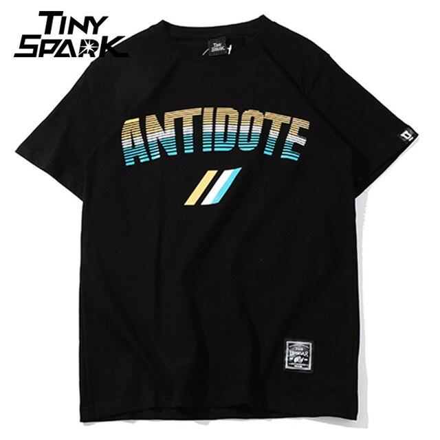 d1e600a1e778 2018 Hip Hop T-Shirt Cotton Summer Streetwear T Shirts Antidote Travis Scott  American Rapper Tshirt High Street Mens Tops Tees