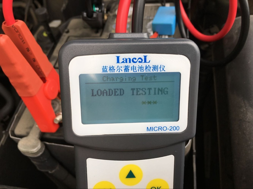 Lancol Micro200 Professional 2000 CCA 200AH Analyzing Bad Cell Diagnostic Tool Digital 12V
