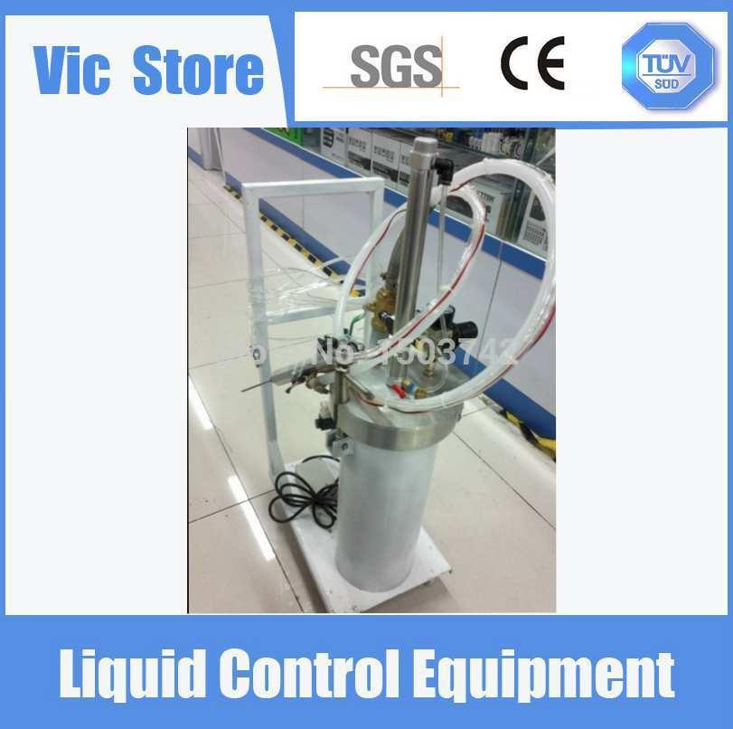 Livraison gratuite colle distribution en acier inoxydable réservoir sous pression