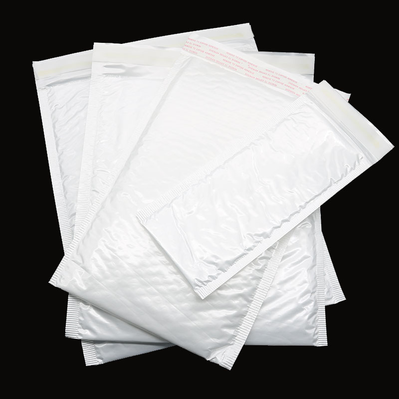10 Pieces / Bag Four Sizes White Bag Bubble Envelope Bubble Foil Foam Foil Envelope Vibration Bag Stationery
