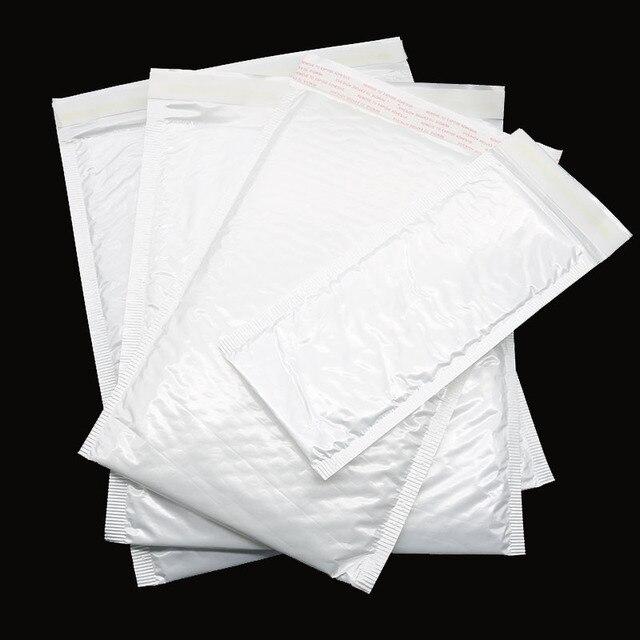 10 pieces bag four sizes white bag bubble envelope bubble foil