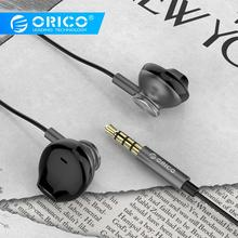 ORICO Metal Hi-fi Earphones Colorful Headset Earbuds HIFI Bass Gaming Earphones For Phone Computer For Xiaomi Huawei Ear Phones earphones sony mdr zx110 headphone for phone earphones for computer on ear