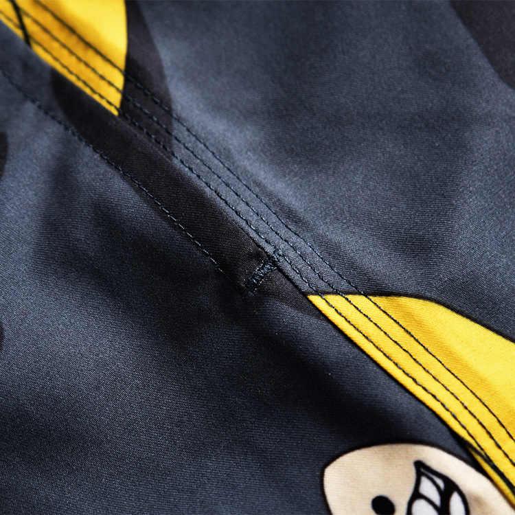 2019 Летние плавки-шорты мужские плавки быстросохнущие пляжные шорты для серфинга одежда для плавания мужские Бермуды для серфинга спортивные шорты мужские
