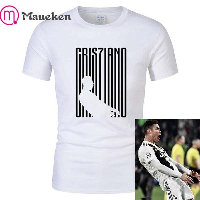 806e79b9b 2019 funny T-Shirt Maglietta Cristiano Ronaldo CR7 Juventus Gesto Madrid  Champions