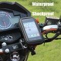 Support de téléphone de moto de vélo pour sac de support de moteur pour Iphone X 8 Plus SE S9 téléphone portable GPS support de vélo housse de sac étanche