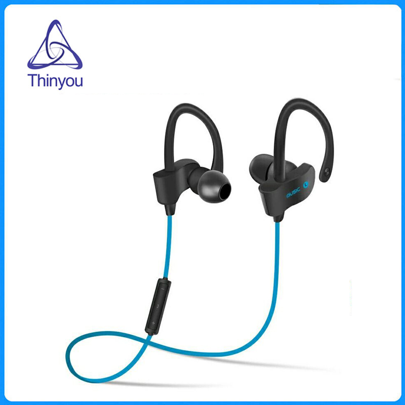 Thinyou Wireless Headphones Sports Bluetooth Earphone Stereo Earbuds Headset Bass Earphones with Microphone In-Ear for Phone
