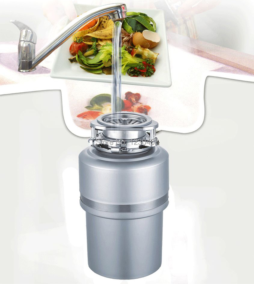 unclog kitchen sink with garbage disposal aliexpress buy kitchen sink food waste disposer 9520