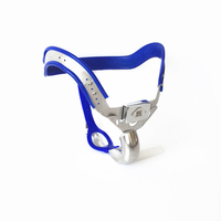 Silvery Stainless Steel Chastity Belt Most Comfortable Strap On Pants Male Chastity Belt Cock Cage Sex Toys For Men Penis Lock