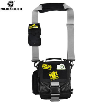 MILRESCUER Outdoor Tactical Waist Solid Sports Hunting Pack Belt Bag EDC Camping Hiking Phone Pouch Tool Bag