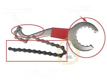 3pcs/lot Metalworking Flywheel Combination Tools Mountain Bike Repair Tool Kit Chain Cutter Axis Repair Tool