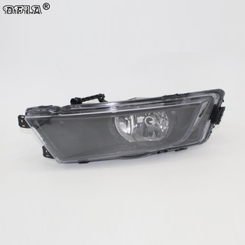 Left Light For Skoda Octavia A7 Sedan Octavia A7 Combi 2013 2014 2015 2016 2017 Car-styling Front Halogen Fog Light Fog Lamp