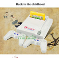 Subor D31 TV game console Double handle nostalgic Video Game Consoles Free electronic gun+ 7 games MARY freeshipping