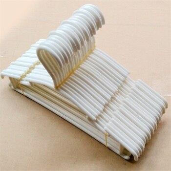 10 pçs/lote Roupas Cabides De Plástico Cremalheira de Secagem Ao Ar Livre para Crianças dos miúdos Do Bebê roupas casaco do armário organizador saco do terno do vestuário