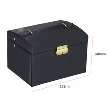 3 Layers Jewelry Display Box Exquisite Makeup Case Box