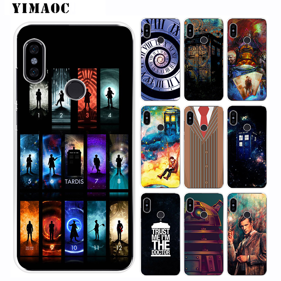 Popular Brand Print Tardis Box Doctor Who Phone Cover For Xiaomi Redmi Note 6 Case 5 Pro 4a 5 Plus 5a Prime 4x 6a Silicone Fitted Cases
