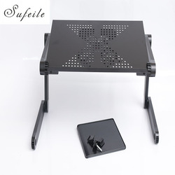 New folding laptop notebook table desk portable adjustable laptop stand desk with cooling holes mouse board.jpg 250x250