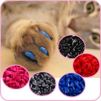 100 pcs cat nail caps