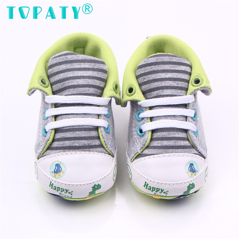 High Quality Kids Lace-Up Canvas Sneakers Brand New Boys & Girls Soft Soled Toddler Shoes Infant First Walkers Sapatos De Bebe