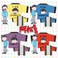 Anime Mr. Osomatsu San 6 colors in OUENDAN Kimono Top Shirt Jacket Unisex In stock free shipping 2016