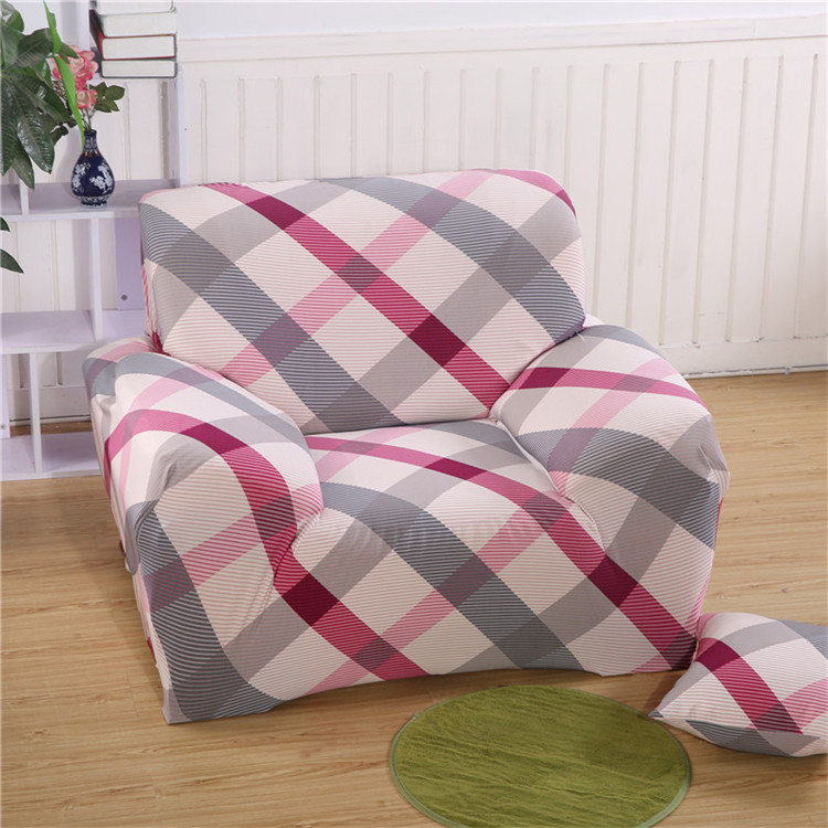 Europe type elastic Full package full cover sofa sets Three single people Couch <font><b>cushion</b></font> antiskid sofa cover Free shipping