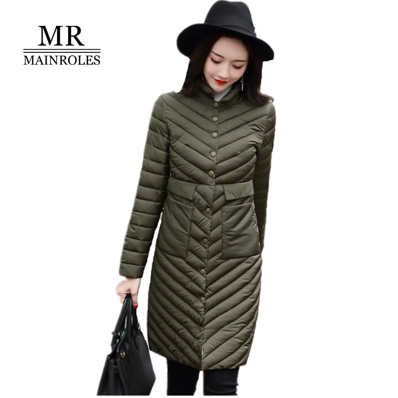 MAINROLES 2017 Long Coats Cotton Jackets Autumn Winter Parka Women Top Large 5XL POLO Collar's Coat 3D Print Polyester Coat New