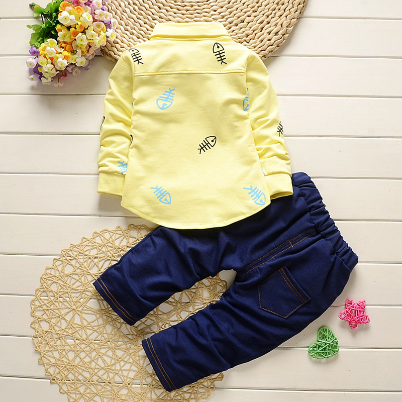 1-4Y New Arrival Boy Clothing Set Kids Sports Suit Children Tracksuit Girls Tshirt Pant Baby Sweatshirt Animal Casual Clothes