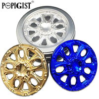 High Quality Wheel Hand Spinner Aluminum Alloy EDC Fidget Gyro Tri Spinner For Anti Stress Autism