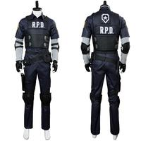 Cosplay Remake Leon Scott Kennedy Cosplay Costume Full Suit Jacket Clothes Halloween Carnival Cosplay Costumes