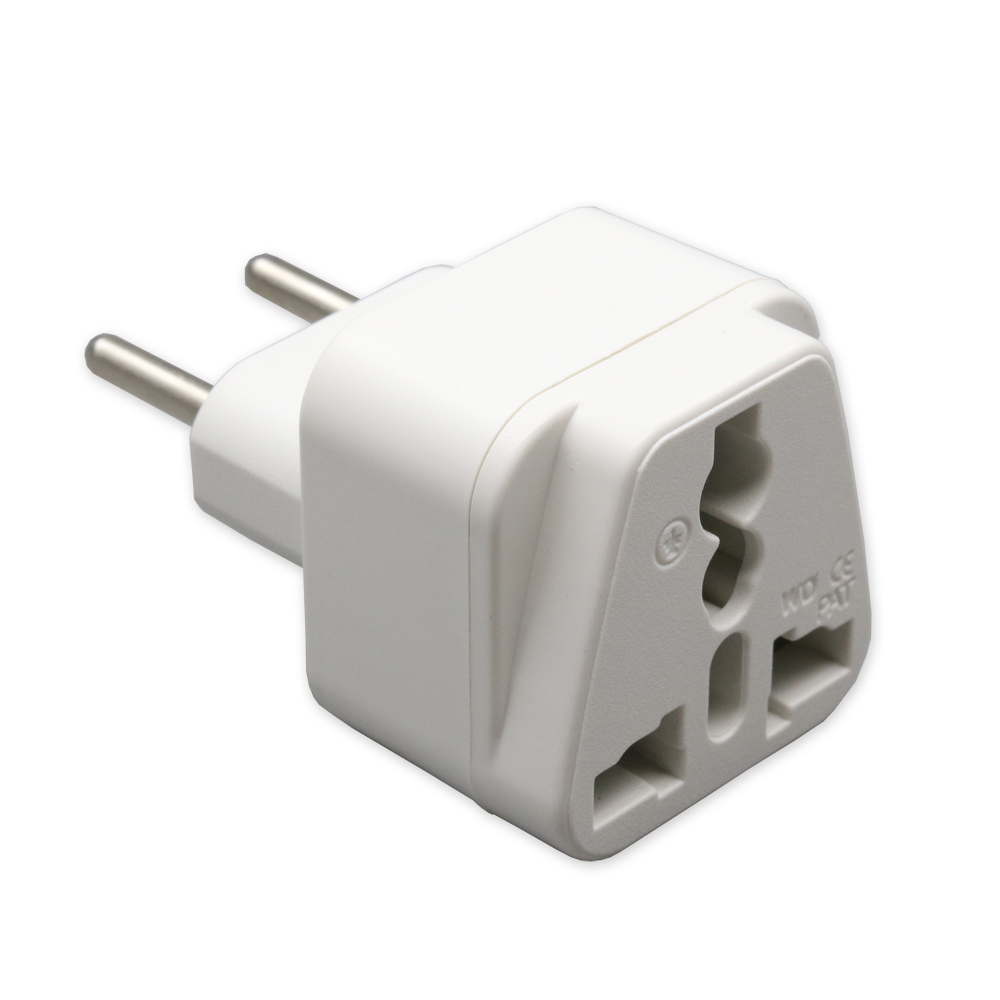 xintylink 2pcs 110v 220v two round pin plug power socket 10A 16A ...