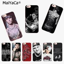 MaiYaCa Mgk Machine Gun Kelly Lace Up Amazing new arrival phone case cover for Apple iPhone8 7 6 6S Plus X 5 5S SE XR XS XS MAX(China)