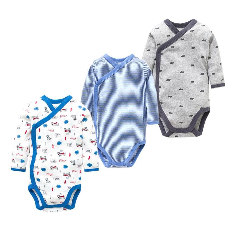 Times 'Сүйікті 3PCS / lot 100% мақта Baby Bodysuit - Балаларға арналған киім - фото 5